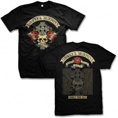 Dropkick Murphys - DKM Signed Cross Tour Tee