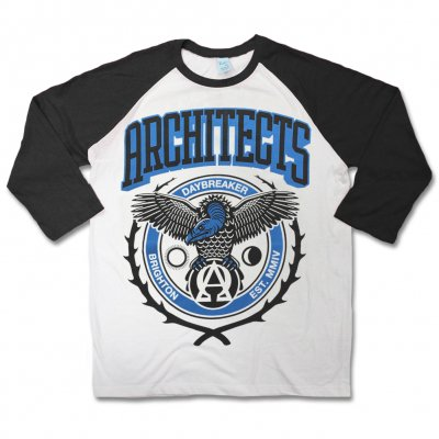 Various Artists - Daybreaker Baseball Raglan (White/Black)