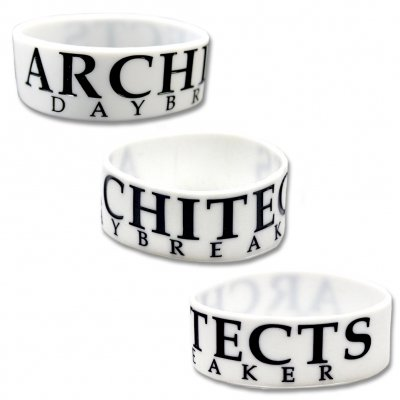 architects - Daybreaker Wristband (White)