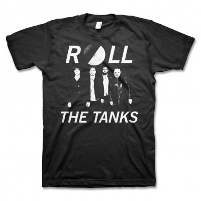 Roll The Tanks - Roll the Tanks Band Photo Tee