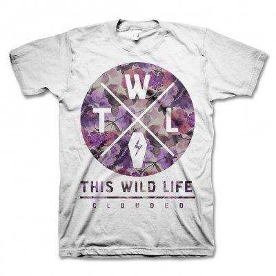 This Wild Life - Clouded Floral Tee - Men's