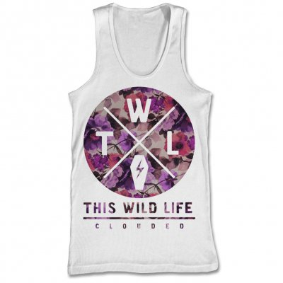 This Wild Life - Clouded Floral Tank