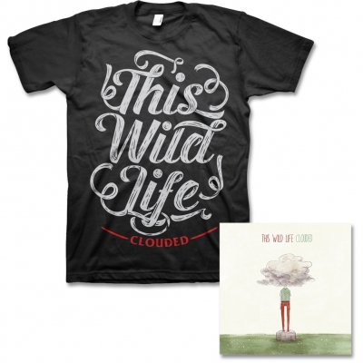 This Wild Life - Clouded CD & Script Tee