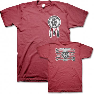 This Wild Life - Dreamcatcher Wolf Tee - Men's