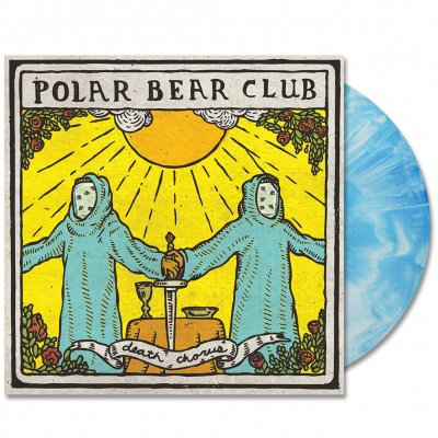 Death Chorus LP - (Blue/White)