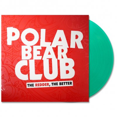 polar-bear-club - The Redder, The Better LP (Clear Green)