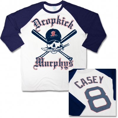 dropkick-murphys - Custom Baseball Raglan (Navy)