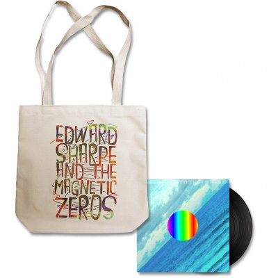 Edward Sharpe - Edward Sharpe Tote Bag & Here LP