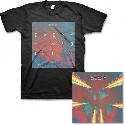 every-time-i-die - From Parts Unknown CD & Square Logo Tee