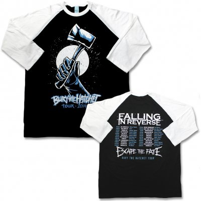 Falling In Reverse - Bury The Hatchet Tour Longsleeve (Black)