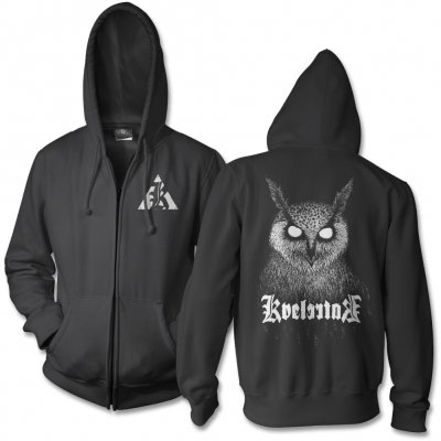 kvelertak - Bartlett Owl Tour Zip Up (Black)