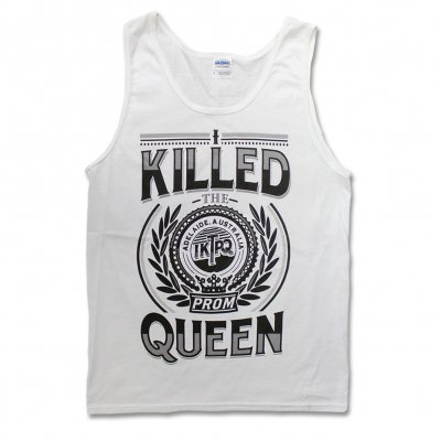 i-killed-the-prom-queen - Logo Crest Tank Top (White)