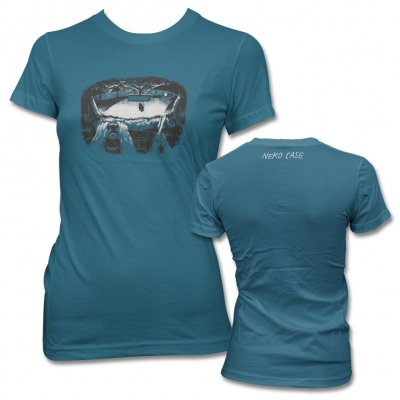 neko-case - Dashboard T-Shirt, Women's (Teal)