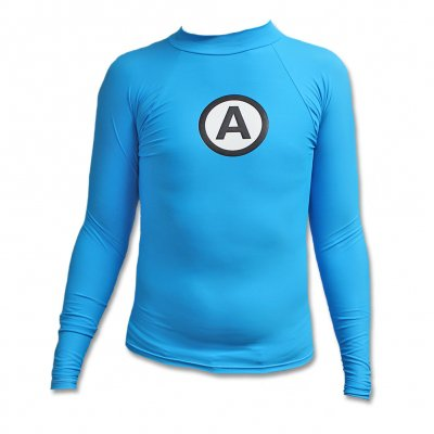 Logo Rash Guard - Blue