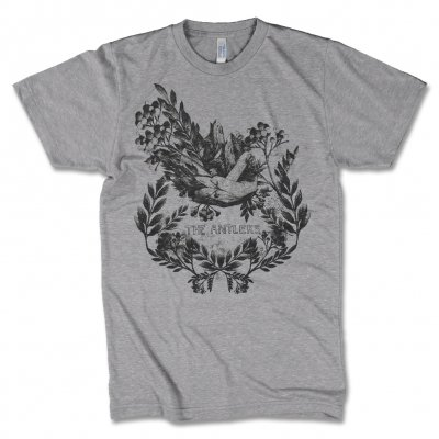 The Antlers - Hands T-Shirt (Heather Grey)