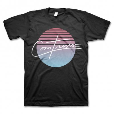 Com Truise - Burst T-Shirt (Black)