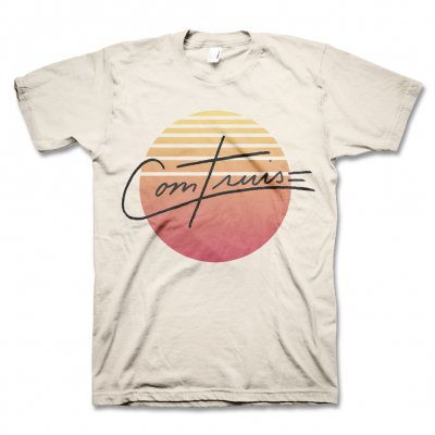 Com Truise - Burst T-Shirt (Off White)