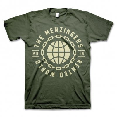 The Menzingers - Rented World Atlas (Olive)