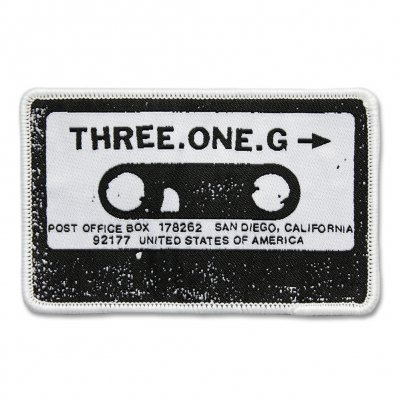 three-one-g - Cassette Patch - 4""
