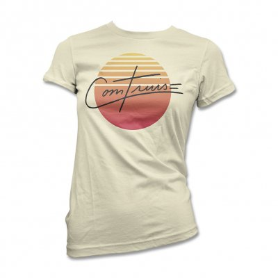 com-truise - Burst Tee - Women's (Off White)