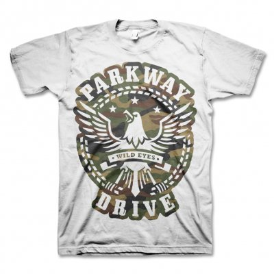 Camo Eagle T-Shirt (White)