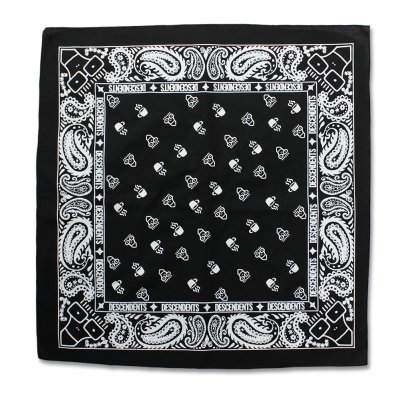 descendents - Coffee Bandana (Black)