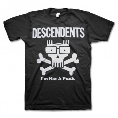 Descendents - Not A Punk Tee (Black)