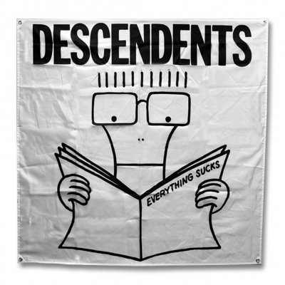Descendents - Everything Sucks Flag