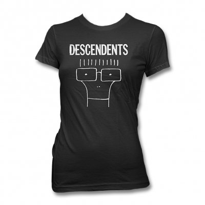 Descendents - Classic Milo Women's Tee (Black)
