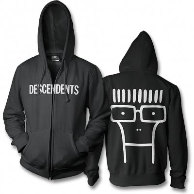 Descendents - Classic Milo Zip-Up Hoodie (Black)