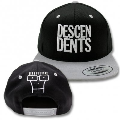 Descendents - Snapback Hat (Black/Silver)