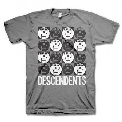 Descendents - Milo Circles (Grey)