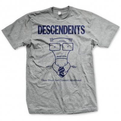 Descendents - Commit Adulthood Shirt (Heather Grey)