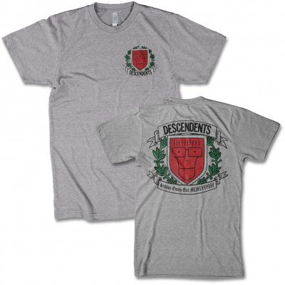 Descendents - Varsity Crest Logo Tee (Heather Grey)