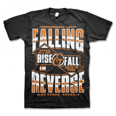 Falling In Reverse - Rise & Fall Tee (Black)