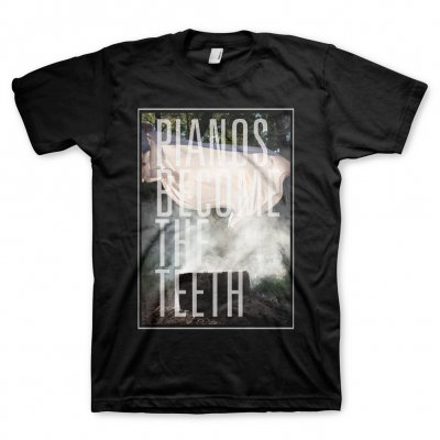 Pianos Become The Teeth - Keep You - Big Cover T-Shirt (Black)