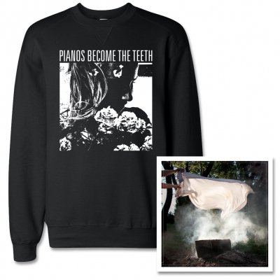 pianos-become-the-teeth - Keep You CD & Faces Crewneck