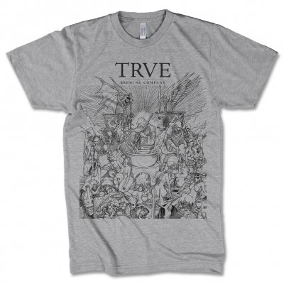 trve-brewing-company - Brewer T-Shirt (Heather Grey)