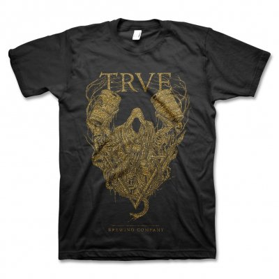 trve-brewing-company - Spectre T-Shirt (Metallic Gold)