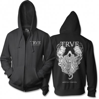 TRVE Brewing Company - Spectre Zip Up Sweatshirt