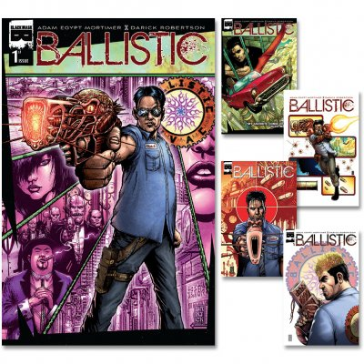 Ballistic - Ballistic Subscription: Issues 1-5