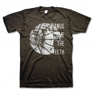 pianos-become-the-teeth - Half Tone T-Shirt (Brown)