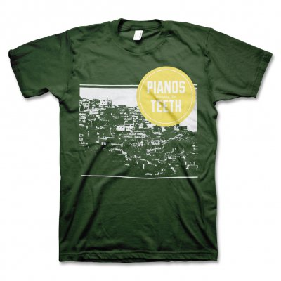 pianos-become-the-teeth - Crowded T-Shirt (Green)
