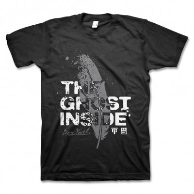 The Ghost Inside - Dear Youth Feather T-Shirt (Black)