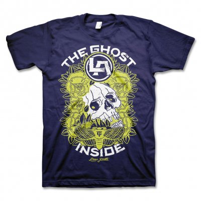 The Ghost Inside - Decease T-Shirt (Navy)