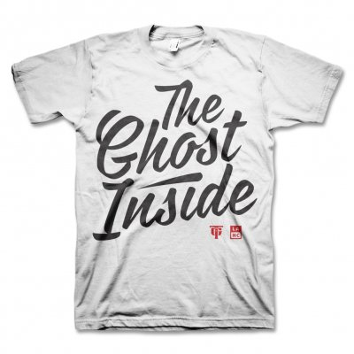The Ghost Inside - TGI Cursive T-Shirt (White) - Mens