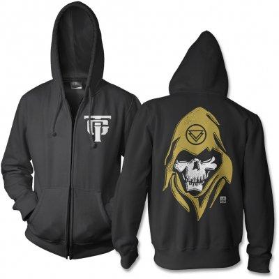 The Ghost Inside - Reaper Zip Up Sweatshirt (Black)