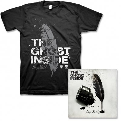 The Ghost Inside - Dear Youth CD & Feather Tee