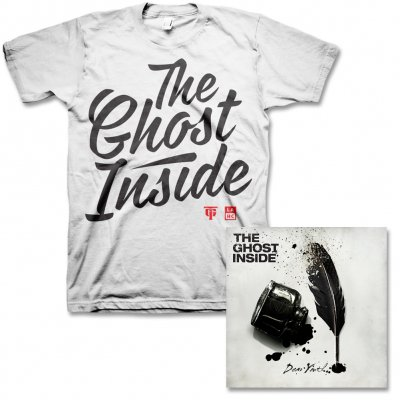 The Ghost Inside - Dear Youth CD & Mens Cursive Tee