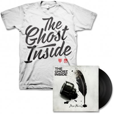 The Ghost Inside - Dear Youth LP (Black) & Mens Cursive Tee